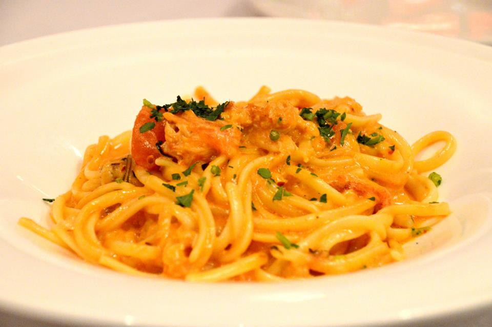 Crab Meat Linguine