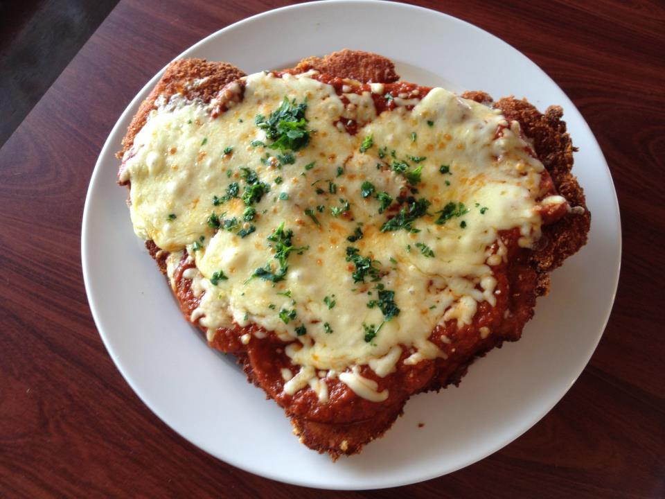Chicken Parmi