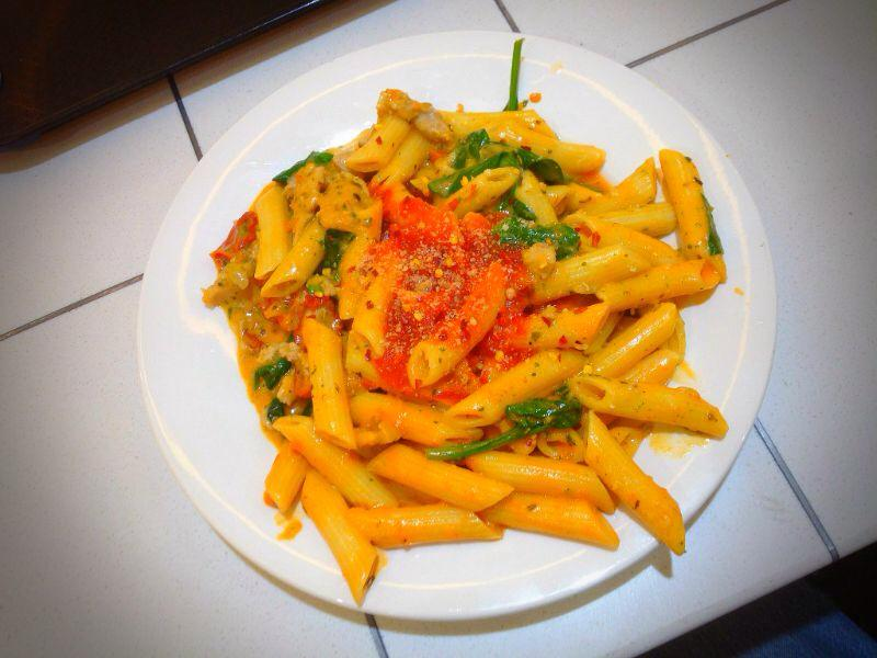 Penne Rosso