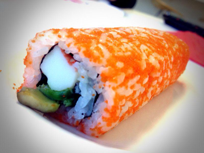 Inside Out California Roll
