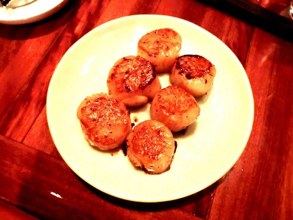 Teppenyaki Scallops