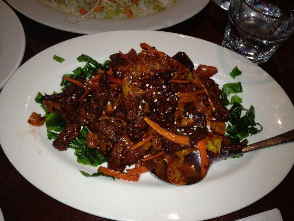 Crispy Beef Peking Style