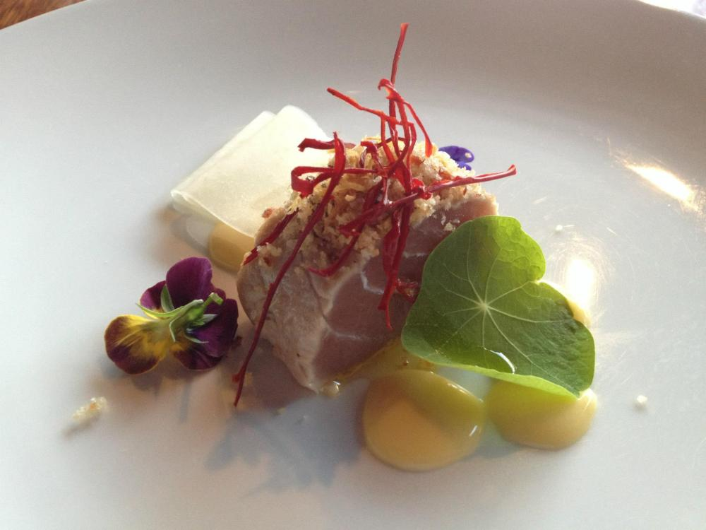 Tuna, Pork, Lemon and Ginger