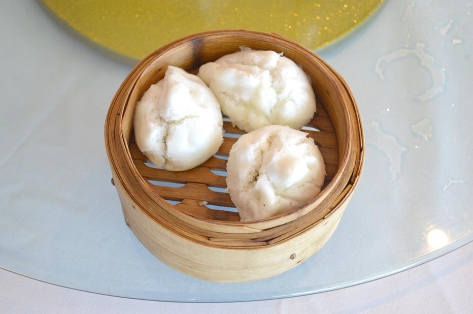 Steamed Chicken and Mushroom Buns