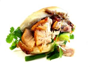 Chinese Style Roast Pork Roll