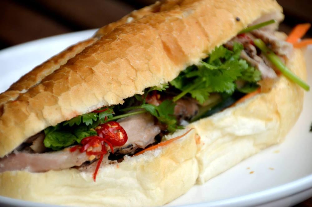 Black Pepper Chicken Banh Mi