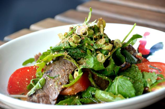 Very Exciting Beef Salad
