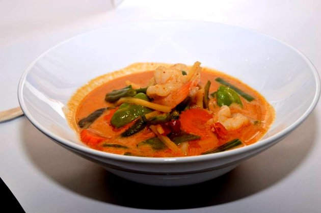 Red Prawn Curry