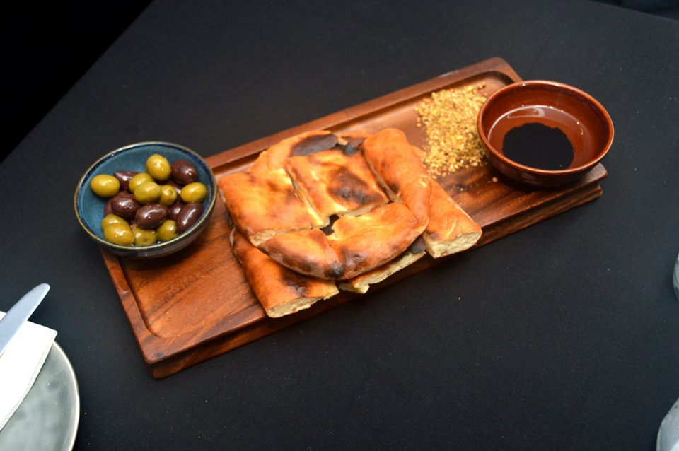 Bread, Olives and Dukkah