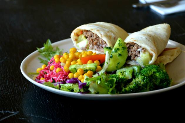 Spiced Beef Wrap