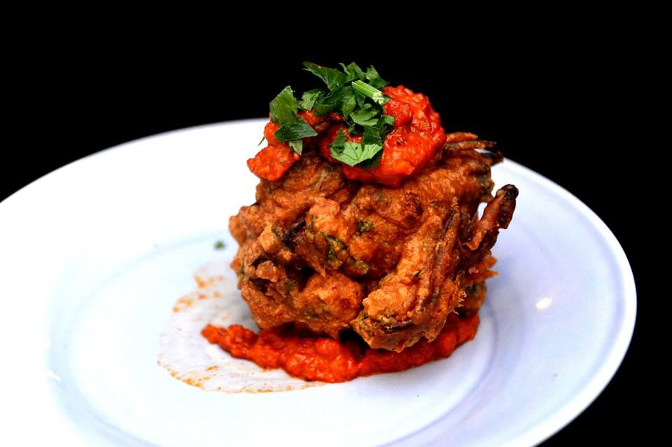 Chickpea and Spinach Fritter