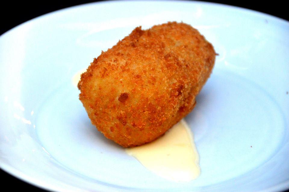Potato and Ham Croquette