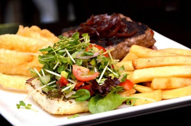 Open Wagyu Burger