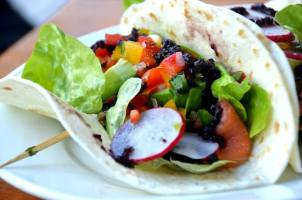 Smoked Trout Soft Tacos