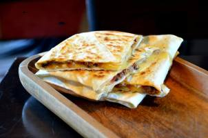 Mince Meat and Cheese Gozleme