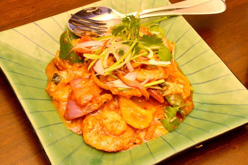 Thai Chilli Prawns