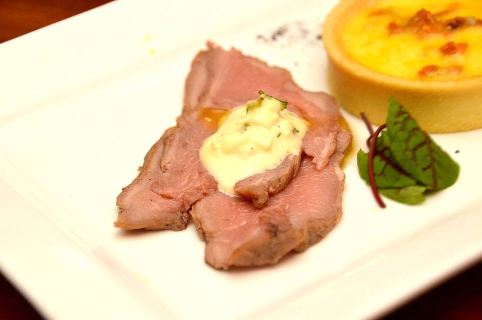 Poached Veal
