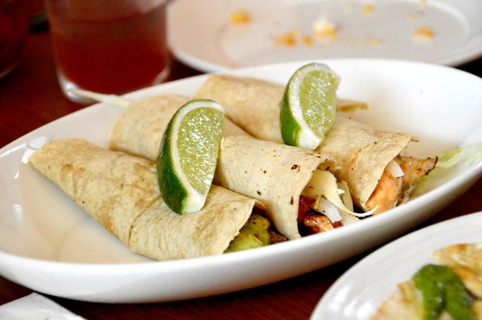 Fish, Prawn and Steak Tacos