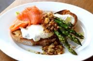 Smoked Salmon, Asparagus and Poached Egg