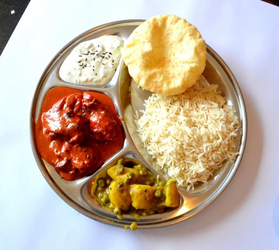 Lunchtime Curry Plate
