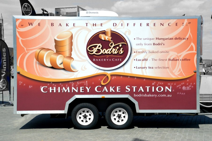 Bodri S Chimney Cake Station Adelaide Food Central