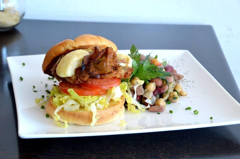 Marinated Chicken Burger