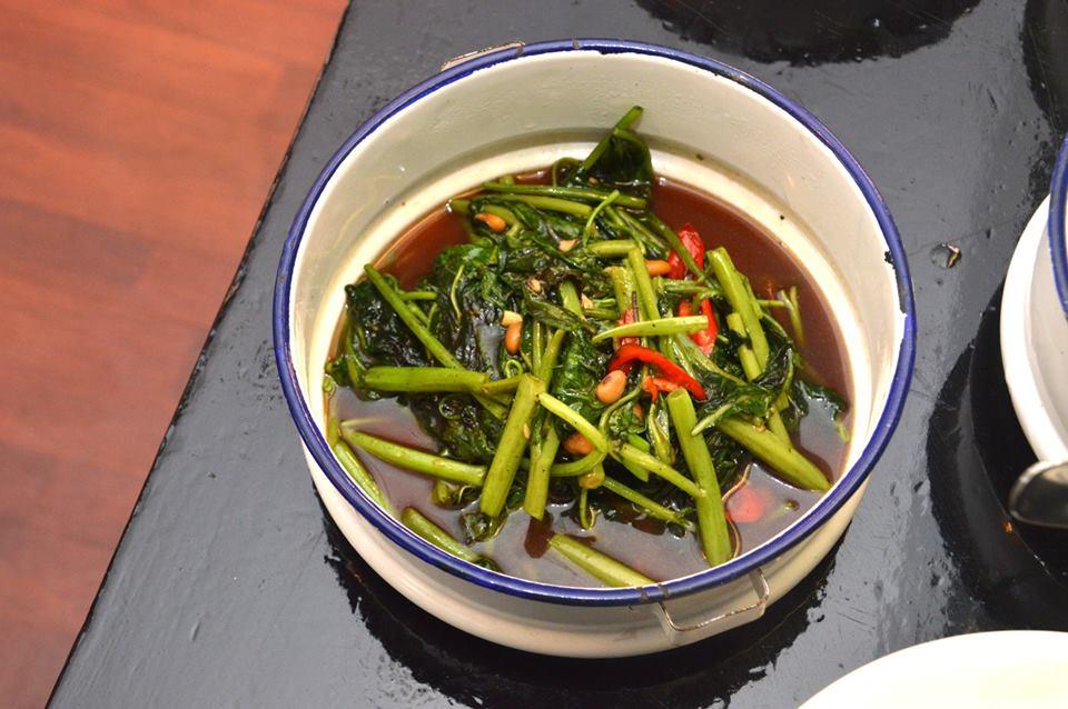 Stir Fried Greens