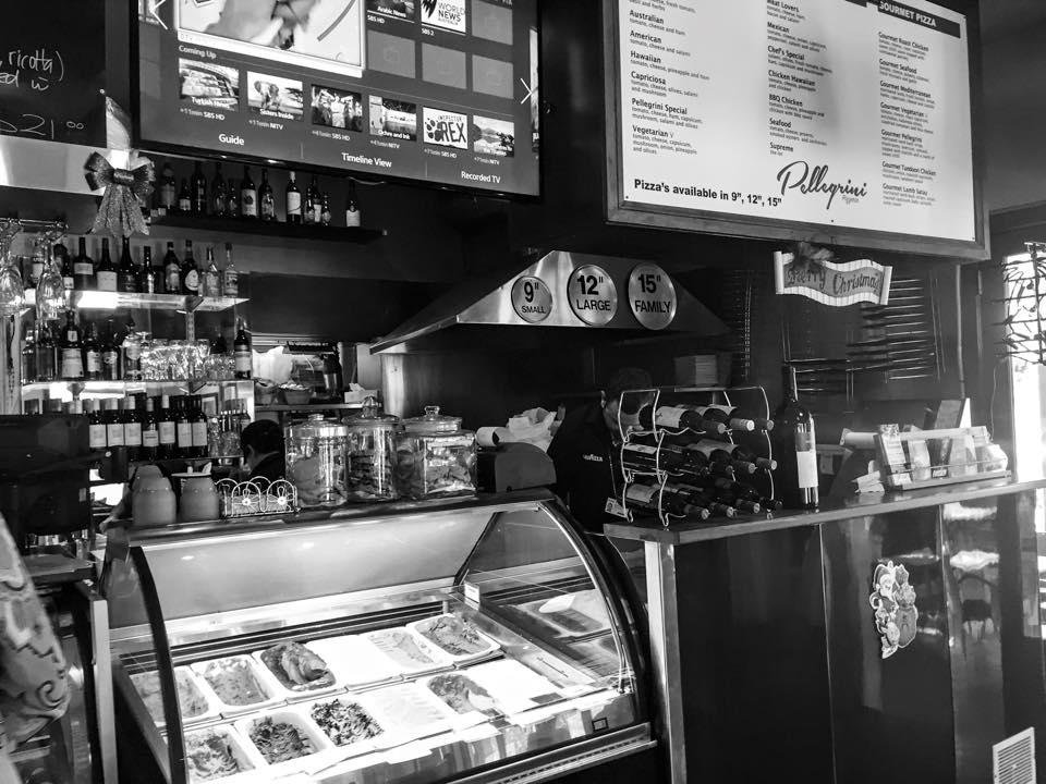 Cafe Pellegrini Adelaide Menu