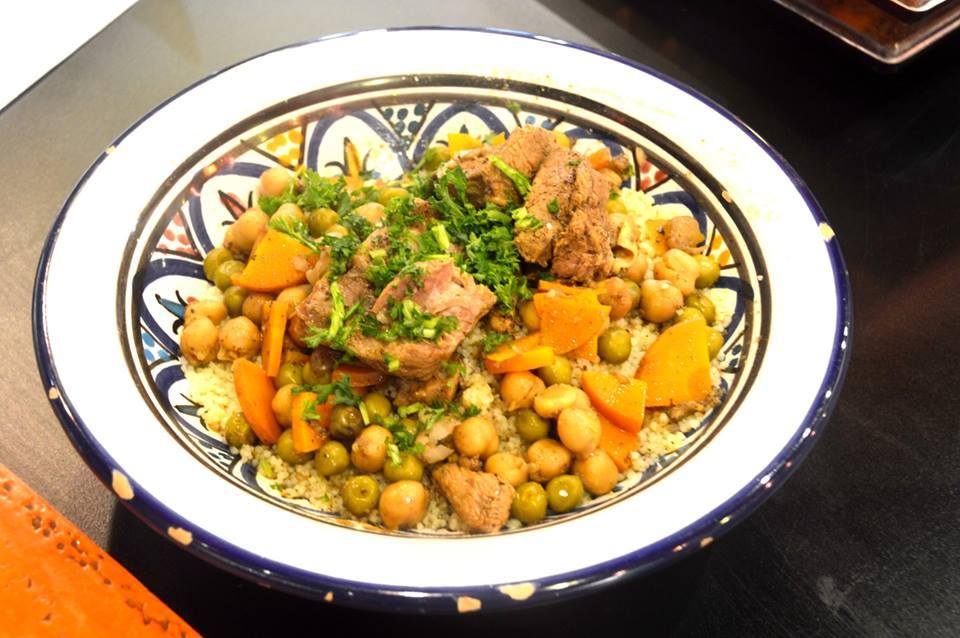 Lamb Couscous