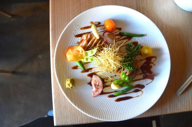 Roast Duck in Yuzu Sauce