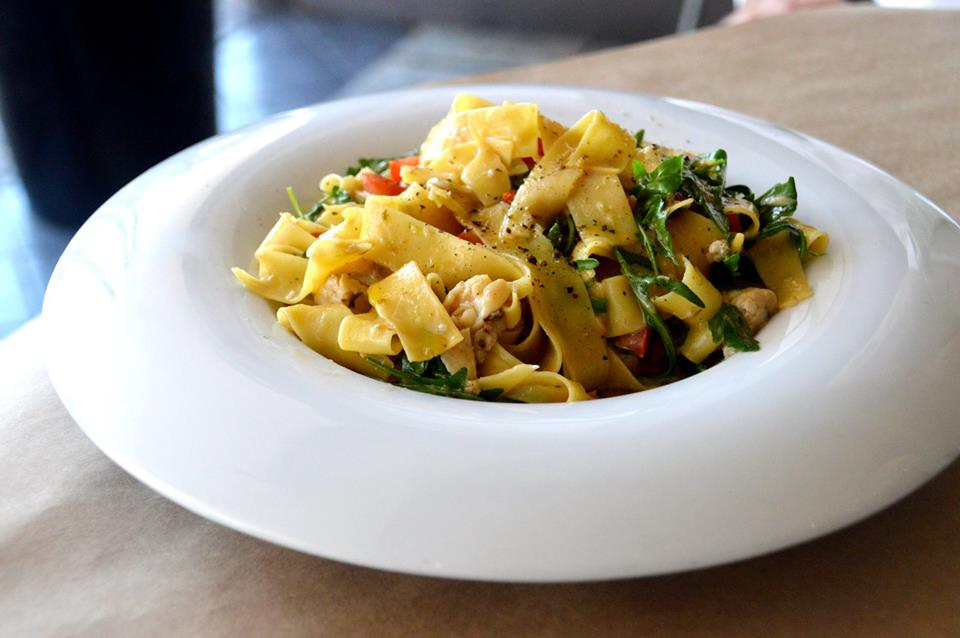 Blue Swimmer Crab Pappardelle