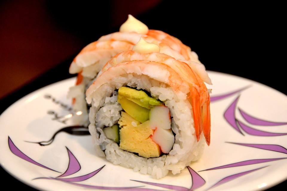 Prawn and Avocado Roll