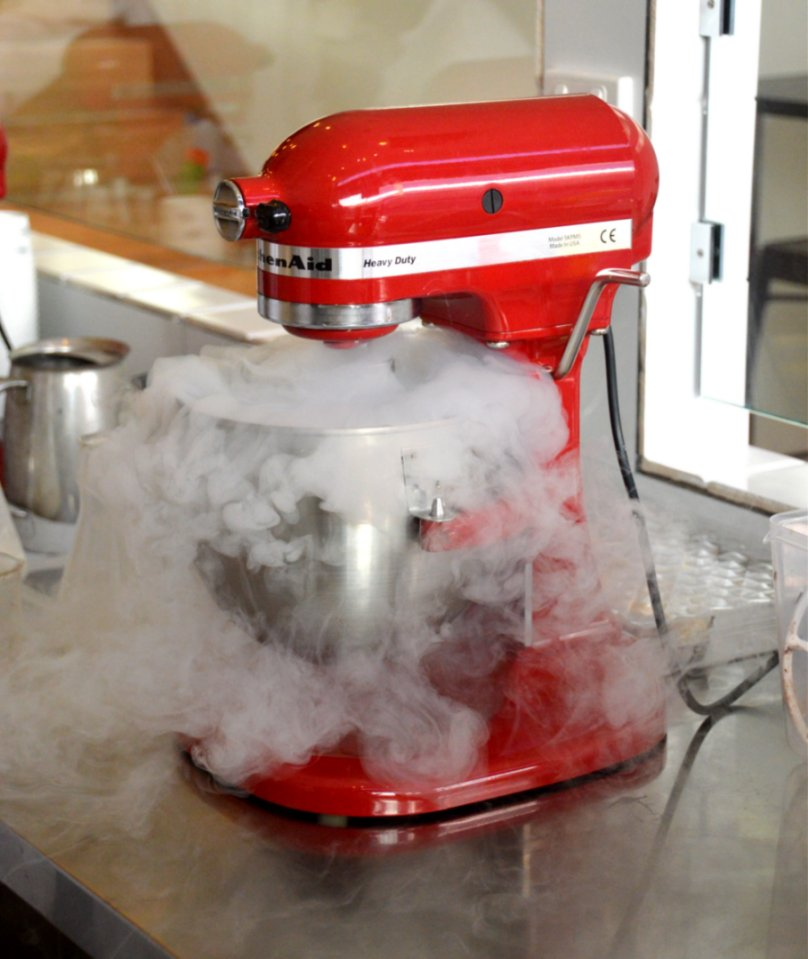Ice Cream Making with Liquid Nitrogen