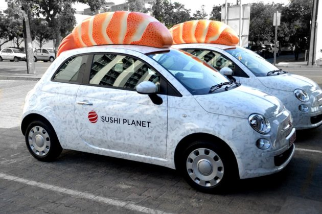 Sushi Delivery Cars