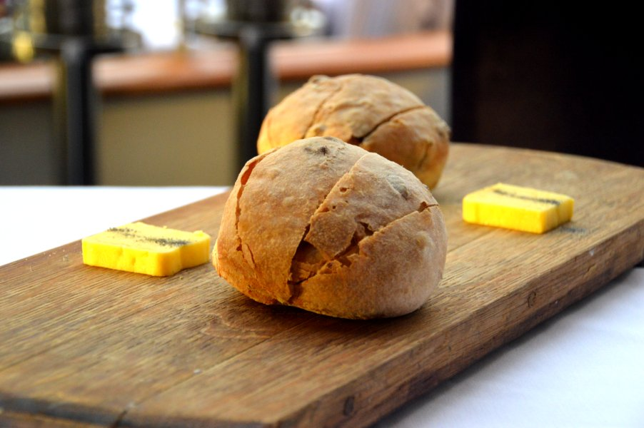 House Made Olive Bread