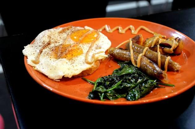 Merguez Sausage Breakfast