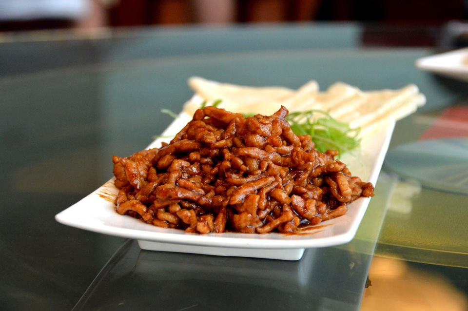 Shredded Pork with Peking Sauce