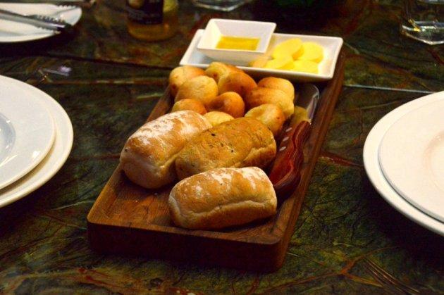 Mini Bread Loaves and Brazilian Cheese Bread Balls