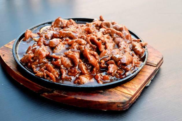 Sizzling Mongolian Beef