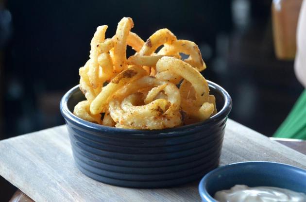 Cajun Curly Fries