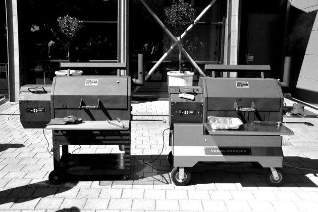 Yoder Hardwood Pellet BBQs