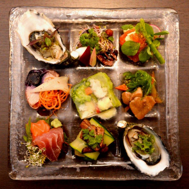 Miyako Hors D'Oeuvre Platter