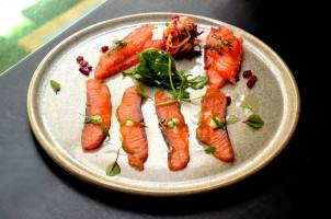 Duo of Cured Tassie Salmon