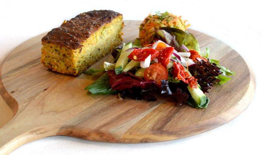 Zucchini Slice and Fabulous Salad