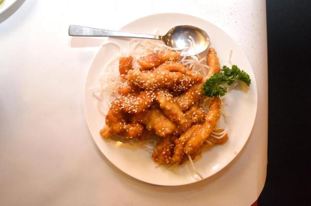 Sesame Chicken in Honey Sauce