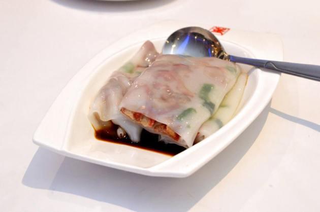 BBQ Pork Rice Rolls