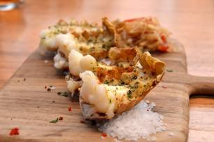Garlic Butter Bug Tails