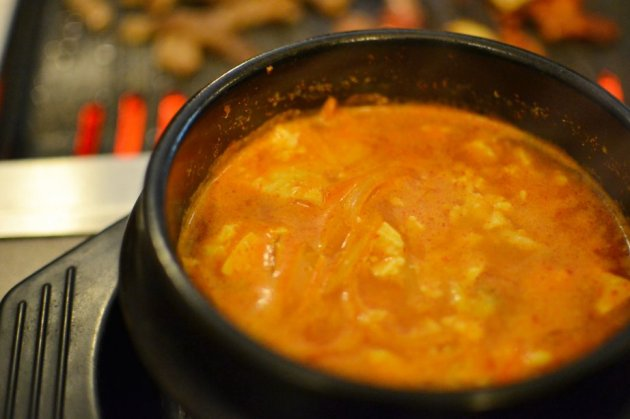 Spicy Tofu Soup