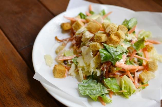 Shake Me Caesar Salad