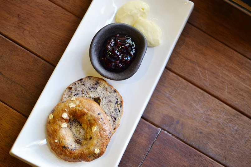 Toasted Blueberry Bagel